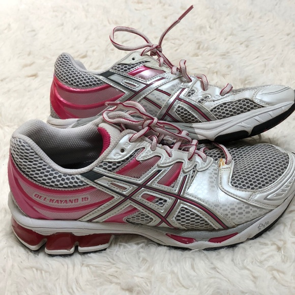 cost charm genuine shoes how to buy ASICS Gel-Kayano 16 running shoes sz 7 women's